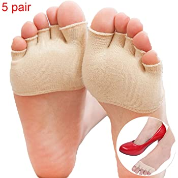 Gomerbesen 4 pares de calcetines largos de algod/ón multicolor para ni/ñas