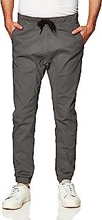 Southpole Basic Stretch Twill Jogger Pants-Reg و بزرگ