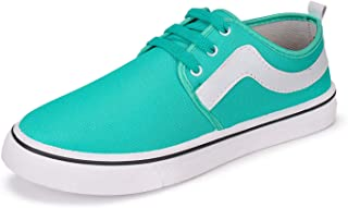 2ROW Men's Canvas Green Sneakers