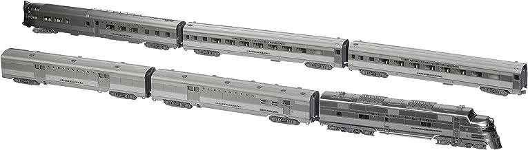 Kato USA Model Train Products CB&Q EMD E5A Silver Streak Zephyr 6-Unit Set