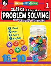 Download 180 Days of Problem Solving for 1st Grade – Build Math Fluency with this 1st Grade Math Workbook (180 Days of Practice) PDF