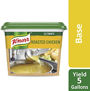 Knorr Professional Ultimate Chicken Stock Base Gluten Free, No Artificial Flavors or Preservatives, No added MSG, Colors from Natural Sources, 1 lb, Pack of 6