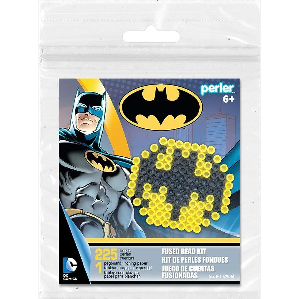 Perler Beads Batman Bat Signal Fuse Bead Activity Kit for Kids Crafts, 227 pcs
