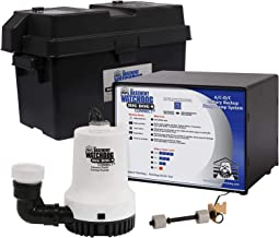 THE BASEMENT WATCHDOG Model No. BWD12-120 Big Dog CONNECT 3,500 GPH at 0 ft. and 2,200 GPH at 10 ft. Battery Backup Sump P...
