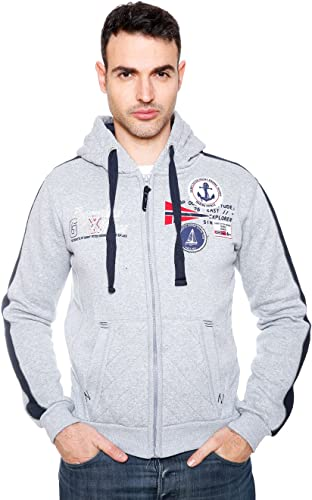 Geographical Norway - Sweat Fatal gris Clair
