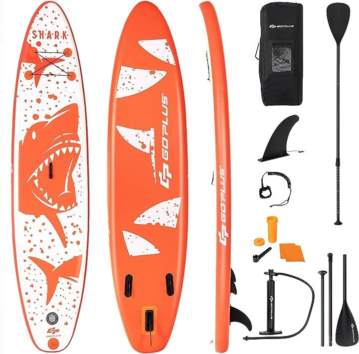 tavola sup costway surf board gonfiabile con accessori completo tavola da surf b096k4dks4