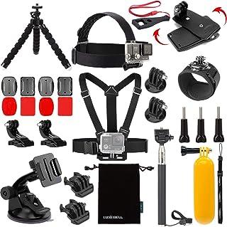 Luxebell Accessories Kit for AKASO EK5000 EK7000 4K WiFi Action Camera Gopro Hero 8 7 6 5/Session...