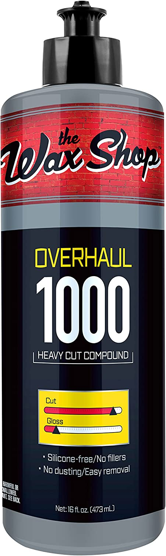 the Wax Shop High quality new 50959 16 Ounces Overhaul Polishing Compou Heavy free shipping Cut