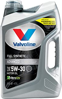 Valvoline Advanced Full Synthetic SAE 5W-30 Motor Oil 5 QT