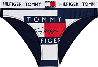 Tommy Hilfiger Bikini Print Womens Brief Medium Stripe Print Navyblazer