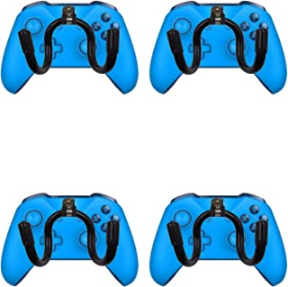 Mini Flexible Wall Mount Holder Rack Organizer for Game Controller -4/PK- No Controller Included - Screw Cover Included - No Game Controller