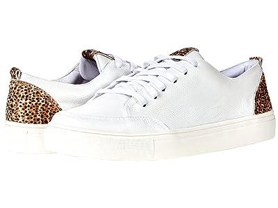KAANAS Paris Lace-Up Sneaker with Contrast Heel