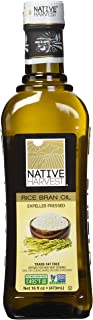 Native Harvest Native Harvest Non GMO Rice Bran Oil 473ml (16 oz), 0.473 Liter