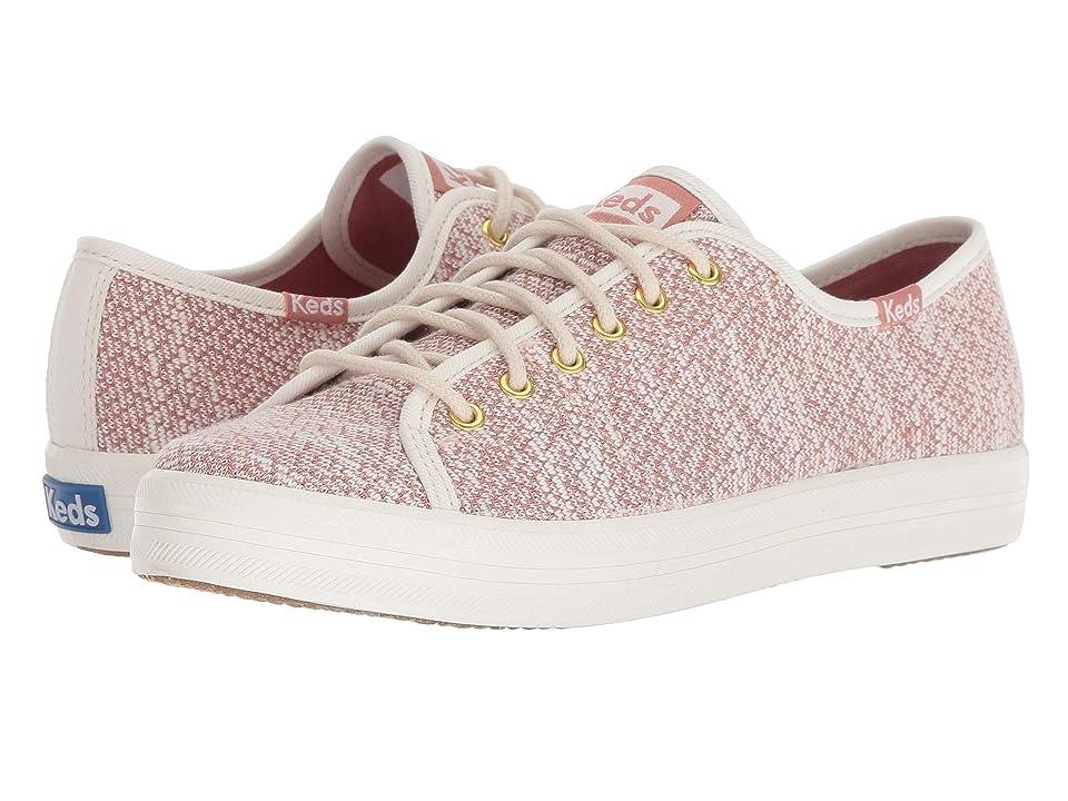 Keds Kickstart Hygge Knit (Cream/Rose) Women