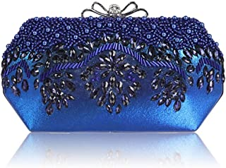 ZYWYB Pearl Clutch Purses for Women Evening Clutches for Wedding and Party (Color : E)