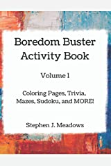 Boredom Buster Activity Book Paperback