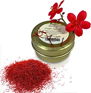 Best Coupe Spanish Saffron (2 grams) - Category 1 Pure Azafran Filaments (Unmatched Aroma for your Paella and Great Gift for Anyone who Enjoys Cooking and Entertaining) Review