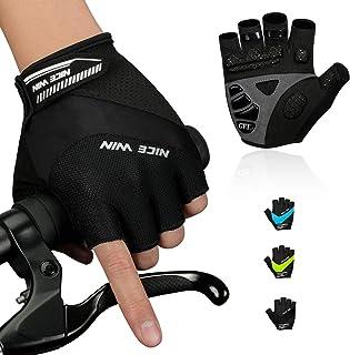 NICEWIN Cycling Gloves Road Bike Gloves Half Finger...