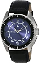 Fastrack Black Magic Analog Blue Dial Men's Watch -NK3089SL01
