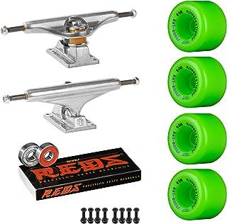Powell-Peralta Old School Skateboard Pack Independent 169 Trucks Rat Bones Green Wheels Bones Reds