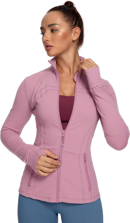 QUEENIEKE Women's Sports Special price Jacket Slim Miami Mall Cottony- Fit Running