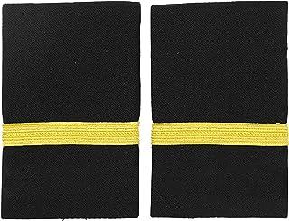 KKmeter 1 Pair Pilot Epaulet Shoulder Boards Traditional Airlines Pilot Captain Officer Uniform Epaulets
