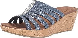 Women's Beverlee-Multi-Strap Rhinestone Sandal Wedge