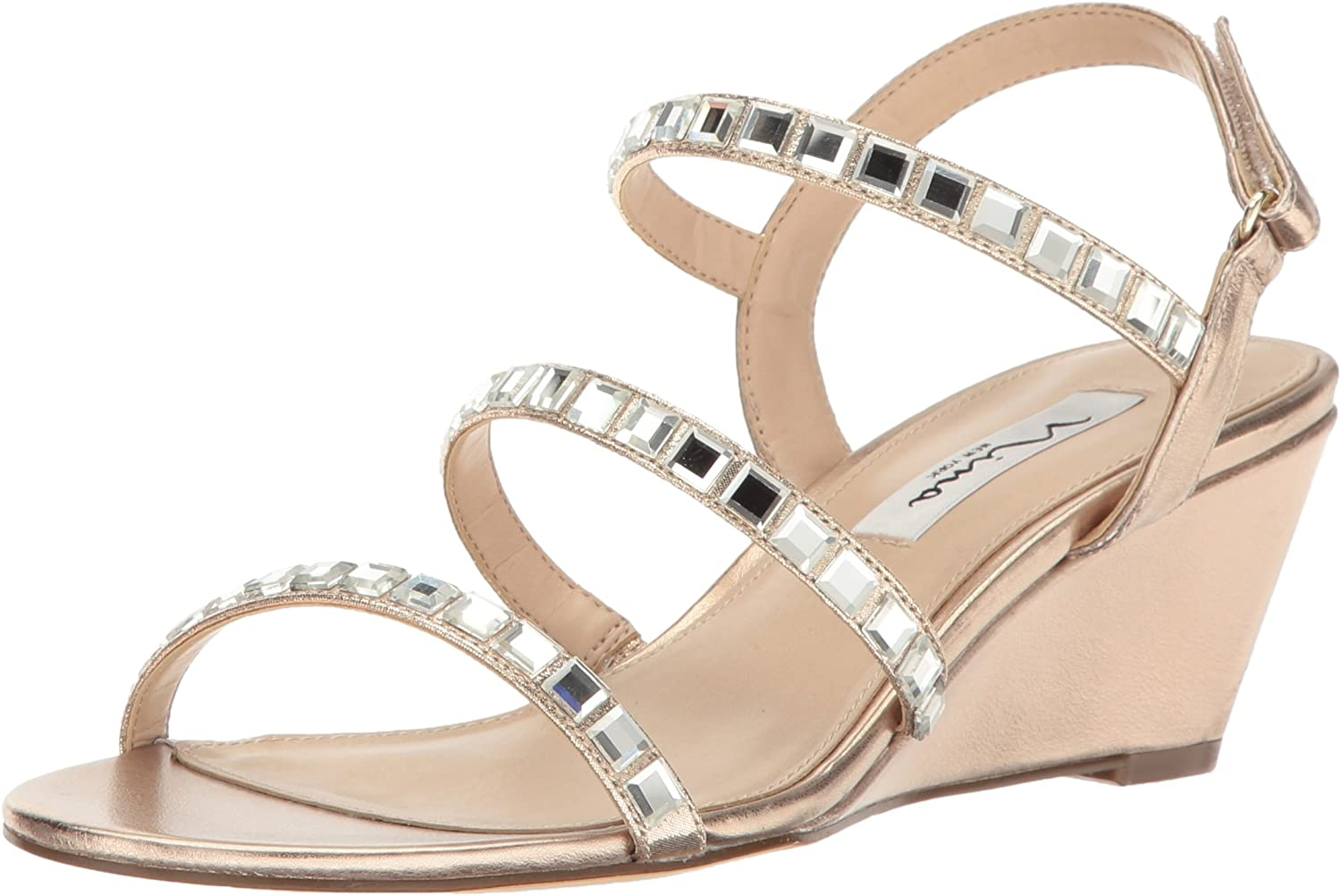 Nina Womens Naleigh Wedge Sandal