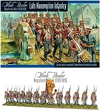 Black Powder Late Napoleonic Hanoverian Line Infantry Regiment 1:56 Military Wargaming Plastic Model Kit