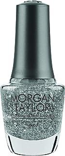 Morgan Taylor Gel de manicura y pedicura (Silver In My Stocking) - 15 ml.