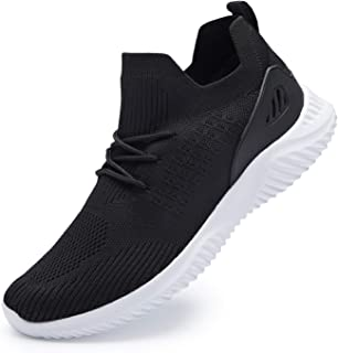Sponsored Ad - YPK Men's Sneakers, [Lightweight Soft Sole] Running Shoes, Non-Slip Walking Shoes, Breathable Mesh Tennis S...