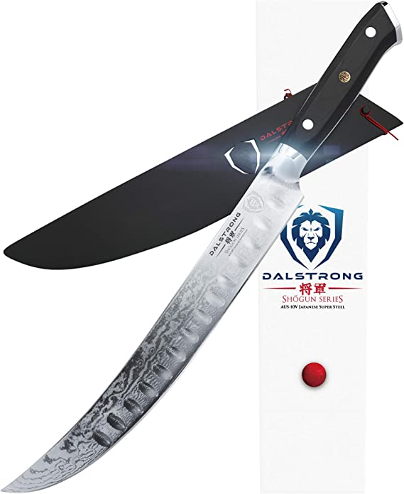 DALSTRONG - Shogun Series Slicer - Japanese AUS-10V Super Steel - Vacuum Treated - Guard Included (10