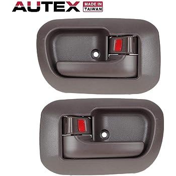 Amazon Com Autex 2pcs Interior Door Handles Front Left Right Driver Passenger Side Door Handles Light Brown 80533 6927808010e0 80504 Automotive