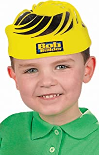 amscan Bob The Builder Party Birthday Hat Favour, Yellow, Plastic , 8
