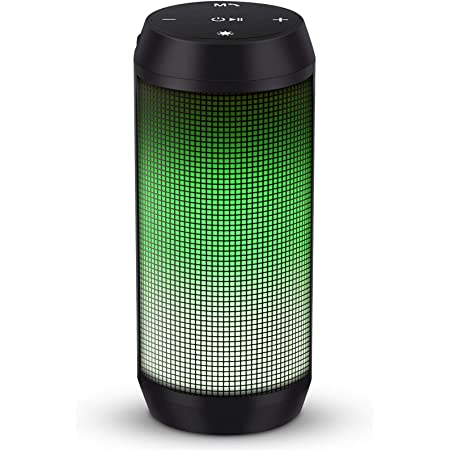ELEHOT Bluetooth Speaker Portable Wireless, Stereo Loud Volume, TWS Dual Pairing Speaker with Subwoofer Outdoor 1 PC