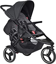 Phil & Teds 2019 Dash Buggy with Doubles Kit (Charcoal)