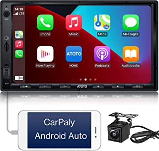 $219 » Sponsored Ad - ATOTO F7 Car Stereo Compatible with Apple CarPlay & Android Auto, 7inch Touch Screen Double Din Car Stereo,...