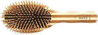 Bass Brushes | The Green Brush | Bamboo Pin + Bamboo Handle Hair Brush