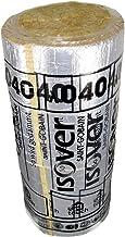Isover Lamella mat aluminium 20 mm, 1 rol van 6m²