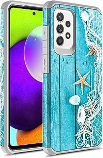 Samsung Galaxy A72 Case, Rosebono Slim Hybrid Shockproof Hard Cover Graphic Fashion Colorful Skin Cover Armor Case for Sam...