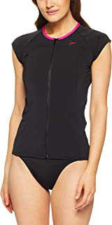 Speedo Women's Cap Sleeve Sun TOP