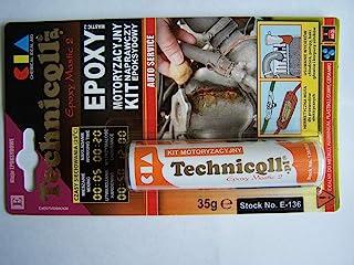 Masilla epoxi para metales (acero aluminio) madera plástica de 35 G de