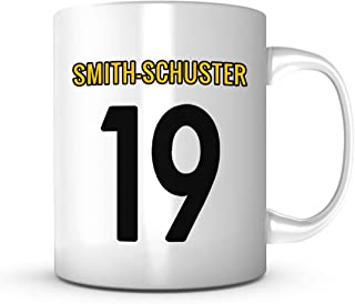 Juju Smith-Schuster Mug - Jersey Number Football Coffee Cup