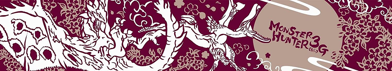 Monster Hunter 3 (Tri) G Towel (Sakura) [Toy] (japan import)