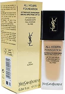 Yves Saint Laurent All Hours Foundation Spf 20, B30 Almond, 0.84 Ounce