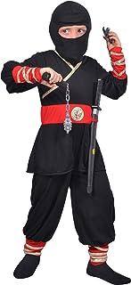 Cesar Déguisement Ninja, F292-002, Noir, 5 à 7 Ans