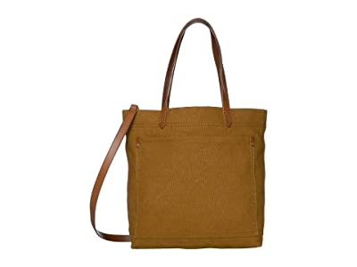Madewell Canvas Medium Transport Tote (Acorn) Tote Handbags
