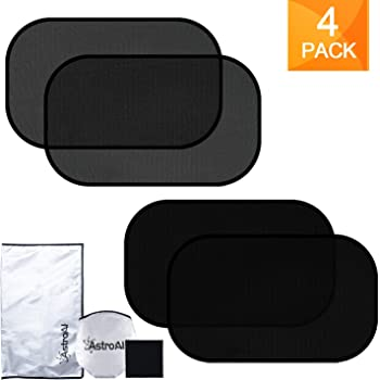 """AstroAI Car Window Sun Shade-21"""" x 14"""" Window Shades for Baby 