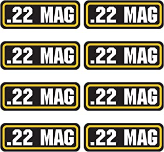 AZ House of Graphics 22 MAG Ammo Sticker 8 Pack