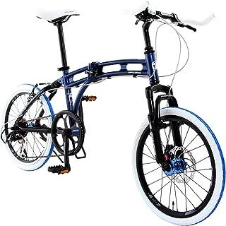 DOPPELGANGER 20インチ 折りたたみ自転車 パラレルツインチューブフレーム採用モデル BLACKMAXシリーズ AURORA 219